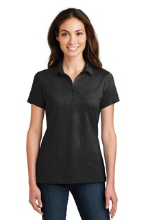Port Authority Meridian Cotton Blend Polo.-