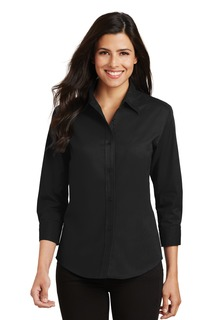 Port Authority® Ladies 3/4-Sleeve Easy Care Shirt.