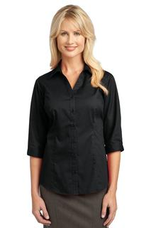 Improved Port Authority 3/4-Sleeve Blouse.-Port Authority