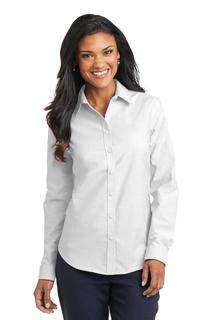 Port Authority® Ladies SuperPro Oxford Shirt.-Port Authority