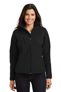 Port Authority Textured Soft Shell Jacket.-
