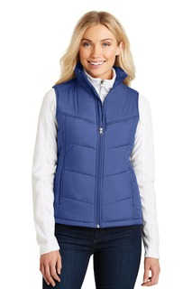Port Authority® Ladies Puffy Vest.-