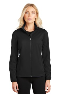 Port Authority Ladies Outerwear for Corporate & Hospitality ® Ladies Active Soft Shell Jacket.-Port Authority