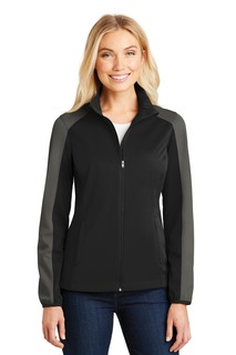 Port Authority® Ladies Active Colorblock Soft Shell Jacket.