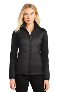 Port Authority® Ladies Hybrid Soft Shell Jacket.-