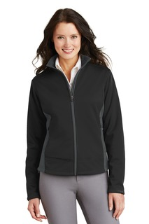 Port Authority® Ladies Two-Tone Soft Shell Jacket.-