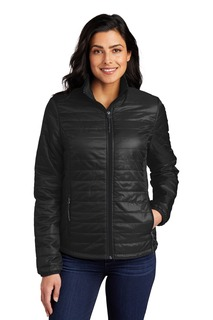 Port Authority ®Ladies Packable Puffy Jacket-