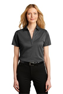 Port Authority Heathered Silk Touch Performance Polo.-