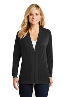 Port Authority® Ladies Concept Bomber Cardigan.