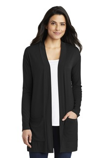 Port Authority ® Ladies Concept Long Pocket Cardigan .-Port Authority