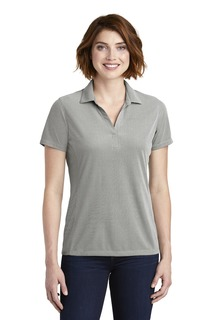 Port Authority ® Ladies Poly Oxford Pique Polo.-Port Authority