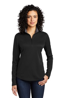 Port Authority ® Ladies Silk Touch Performance 1/4-Zip-Port Authority