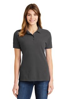 Port & Company® Ladies Ring Spun Pique Polo.-Port & Company