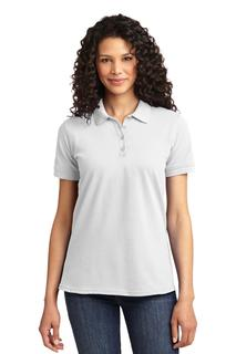 Port & Company® Ladies Core Blend Pique Polo.-