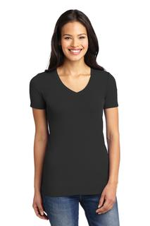 Port Authority® Ladies Concept Stretch V-Neck Tee.-Port Authority
