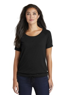 New Era ® Ladies Tri-Blend Performance Cinch Tee.-