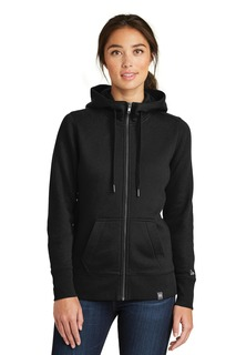 New Era ® Ladies French Terry Full-Zip Hoodie.-New Era