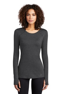 OGIO ® ENDURANCE Ladies Force Long Sleeve Tee-OGIO
