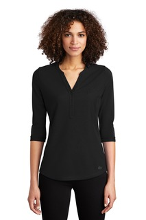 OGIO ® Ladies Jewel Henley-
