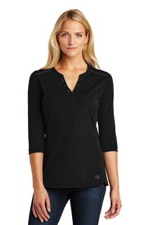 OGIO ® Ladies Fuse Henley.-
