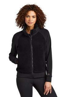 OGIO ® Ladies Luuma Sherpa Full-Zip.-