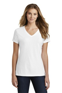 Port & Company Fan Favorite Blend V-Neck Tee.-