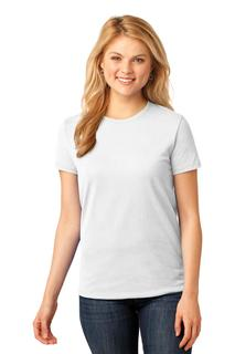 Port & Company® Ladies Core Cotton Tee.-