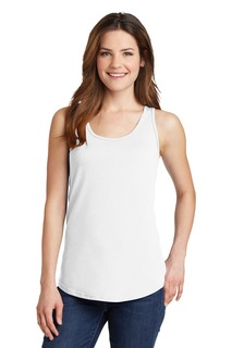 Port & Company® Ladies Core Cotton Tank Top.-