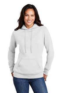 Port & Company ® Ladies Core Fleece Pullover Hooded Sweatshirt-Port & Company