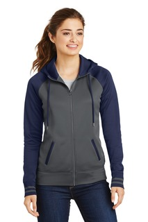 Sport-Tek® Sport-Wick® Varsity Fleece Full-Zip Hooded Jacket.-Sport-Tek