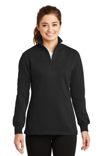 Sport-Tek® Ladies 1/4-Zip Sweatshirt.-