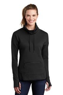 Sport-Tek ® Ladies Triumph Cowl Neck Pullover-