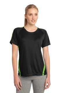 Sport-Tek® Ladies Colorblock PosiCharge® Competitor Tee.