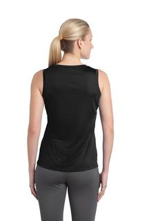 Sport-Tek® Ladies Sleeveless PosiCharge® Competitor V-Neck Tee.