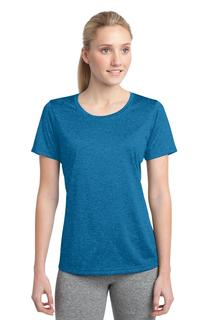 Sport-Tek® Ladies Heather Contender Scoop Neck Tee.-