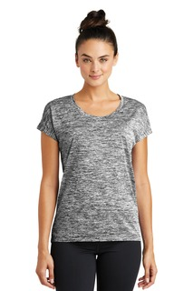 Sport-Tek® Ladies PosiCharge® Electric Heather Sporty Tee.-