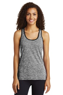 Sport-Tek ® Ladies PosiCharge ® Electric Heather Racerback Tank.-Sport-Tek