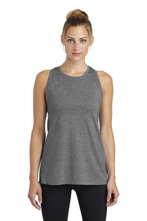 Sport-Tek ® Ladies PosiCharge ® Tri-Blend Wicking Tank.-
