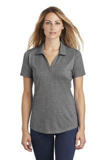 Sport-Tek ® Ladies PosiCharge ® Tri-Blend Wicking Polo.-Sport-Tek