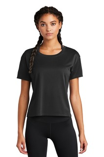 Sport-Tek ® Ladies PosiCharge ® Draft Crop Tee.-