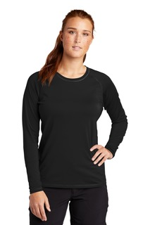 Sport-Tek ® Ladies Long Sleeve Rashguard Tee.-
