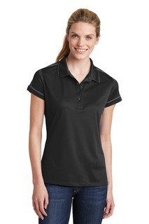 Sport-Tek® Ladies Contrast Stitch Micropique Sport-Wick® Polo.-