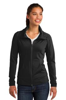 Sport-Tek® Ladies Sport-Wick® Stretch Full-Zip Jacket.