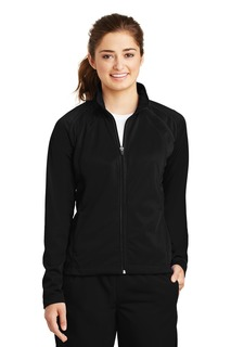 Sport-Tek® Ladies Tricot Track Jacket.-
