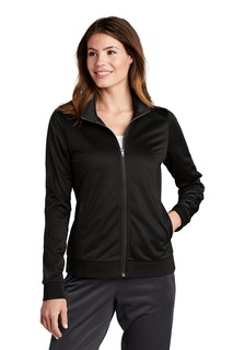 Sport-Tek ® Ladies Tricot Track Jacket.-