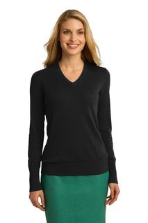Port Authority® Ladies V-Neck Sweater.-
