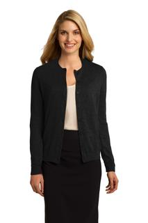 Port Authority Cardigan Sweater.-Port Authority