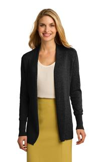 Port Authority® Ladies Open Front Cardigan Sweater.-
