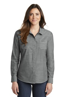 Port Authority Slub Chambray Shirt.-