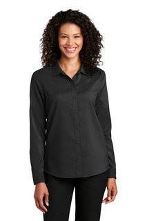 Port Authority ® Ladies Long Sleeve Performance Staff Shirt-Port Authority